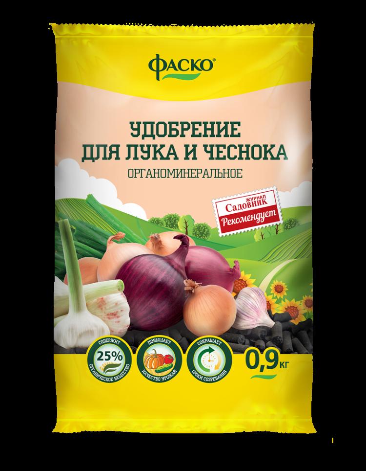 Удобрение органоминеральное Лук и чеснок ФАСКО