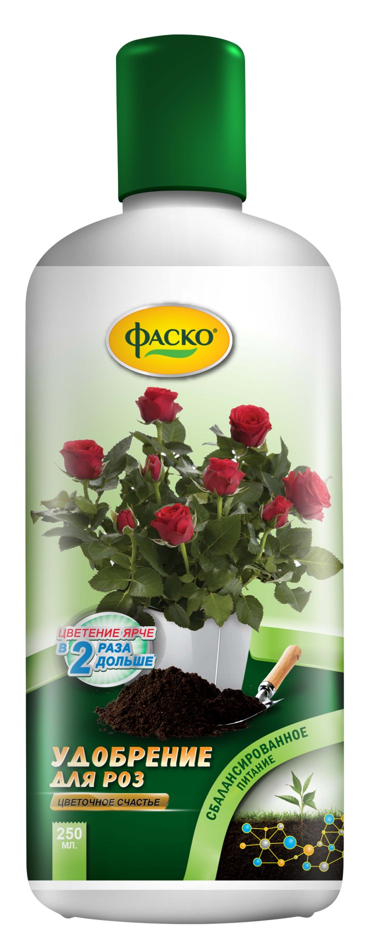 """Удобрение комплексное жидкое для роз ФАСКО """"Цветочное счастье"""""""